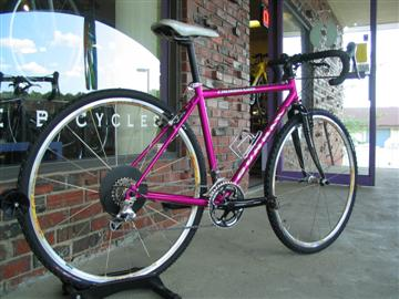 Custom fit & built by Grace Bicycles Gunnar Cycles Crosshairs