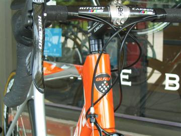 Guru Geneo custom fit & built by Grace Bicycles
