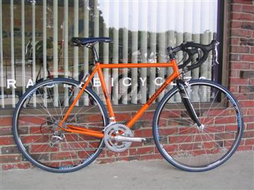 IF Steel Crown Jewel built by Grace Bicycles
