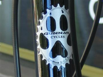 Custom Gunnar Roadie Head Tube Decal