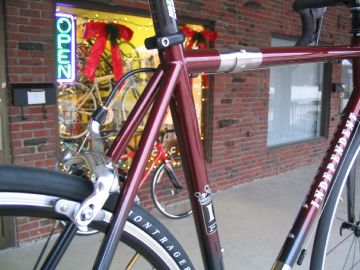 custom fit & built by Grace Bicycles