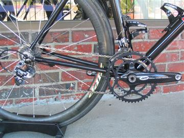 Parlee Z1 with Zipp Vuma carbon crank and ceramic BB