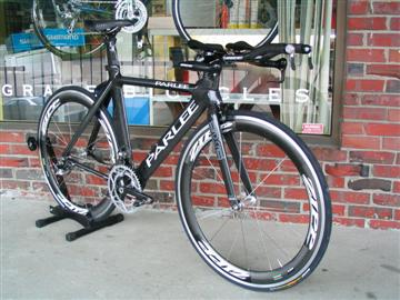 Parlee TT bike built by Grace Bicycles