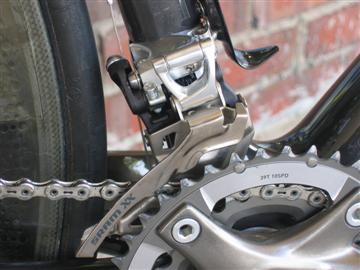 Parlee Z5 with Sram XX crank and front derailleur
