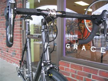 Grace Bicycles custom fit & built Parlee Cycles Z1