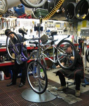 Campus Bike Shop Service Package - for bikes not purchased at the shop