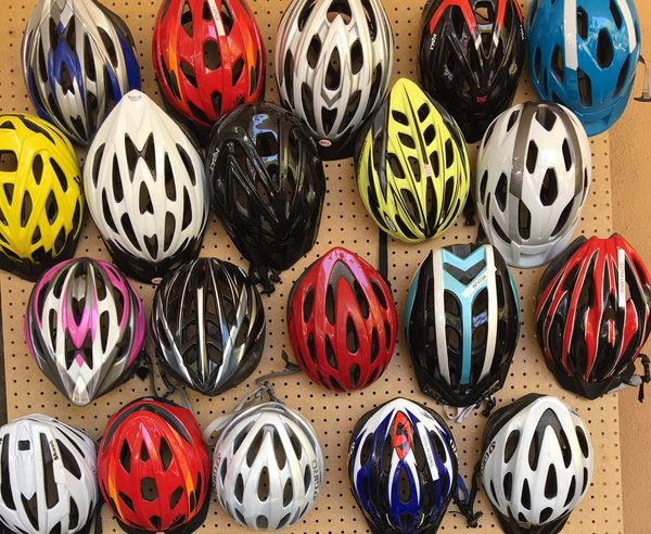Campus Bike Shop Helmets