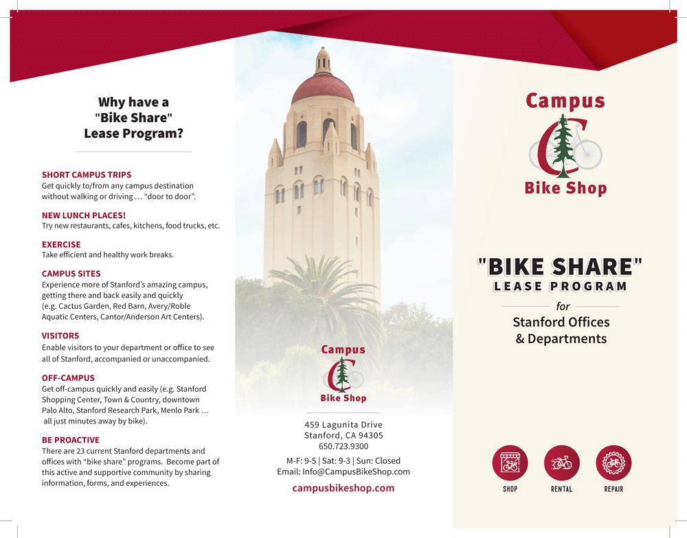 Campus Bike Shop Bike Share Lease Program
