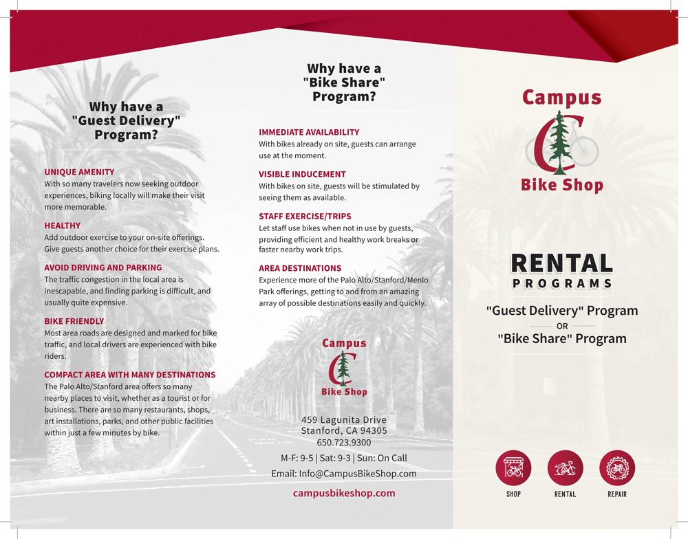 Rental Programs - Campus Bike Shop - Stanford University