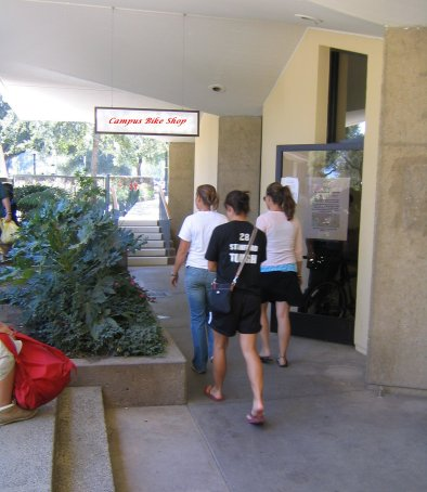 Our New Shop in Tresidder - Campus Bike Shop - Stanford University
