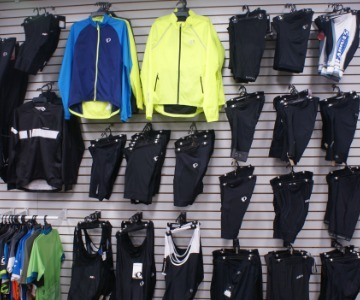 Cycling apparel and shoes