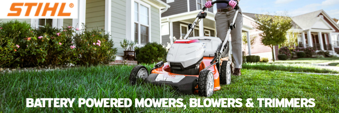 Stihl Lawnmowers and Chainsaws