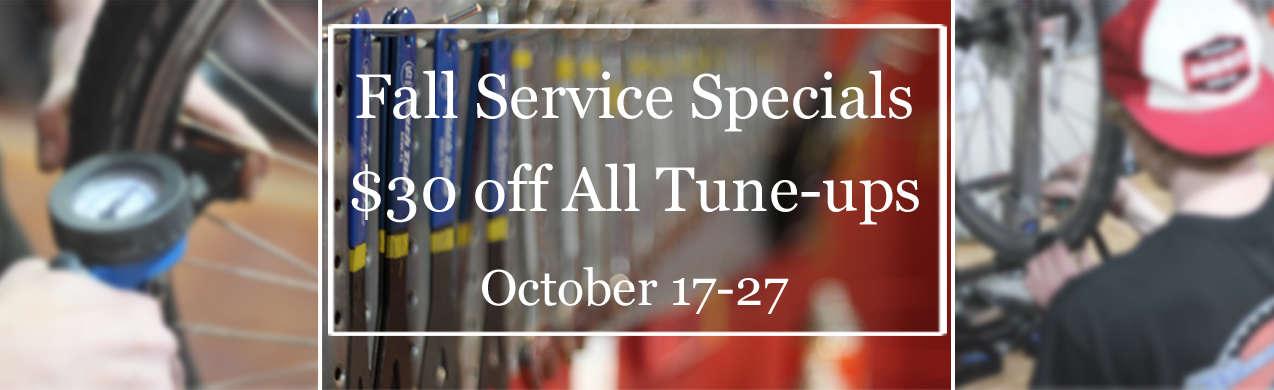 2019 Fall Service Specials