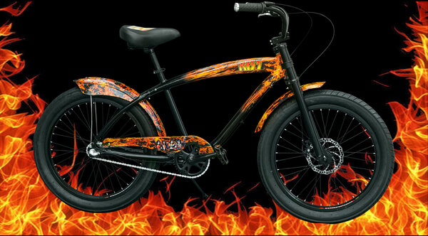 HBC KISS DESTROYER Bicycle