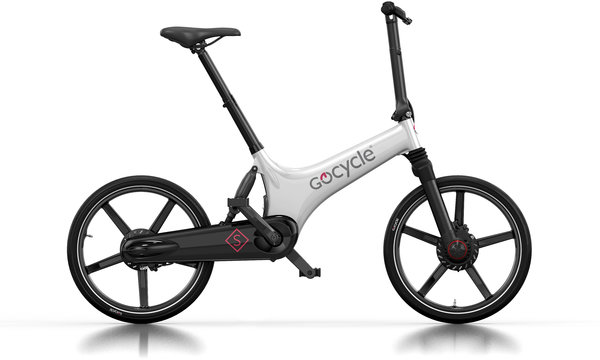 Gocycle GS Electric Folding Bike Color: White/Black