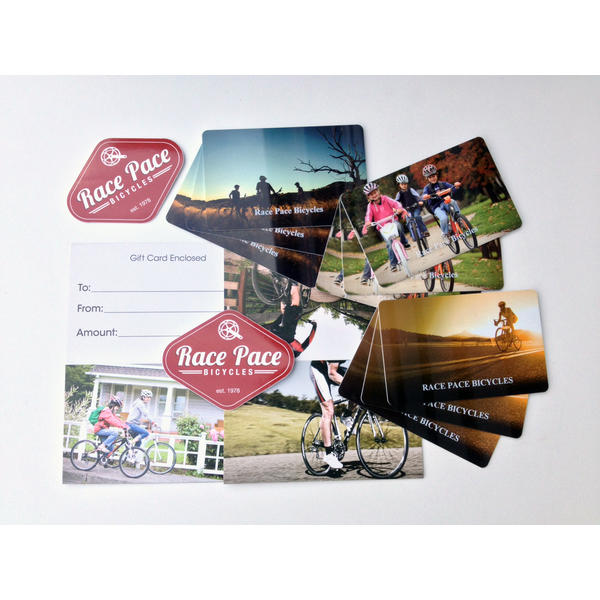 Race Pace Bicycles $150.00 Gift Certificate