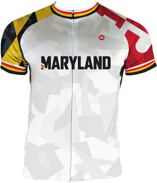 Hill Killer Apparel Co Maryland Recon Men's Club-Cut Cycling Jersey