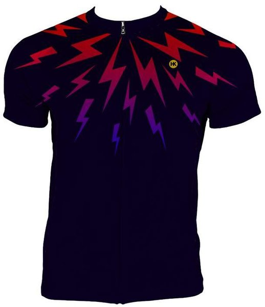 Hill Killer Apparel Co Midnight Lightning Men's Cycling Jersey