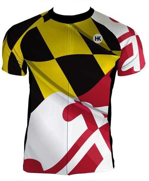 Hill Killer Apparel Co Pride of Maryland Men's Cycling Jersey