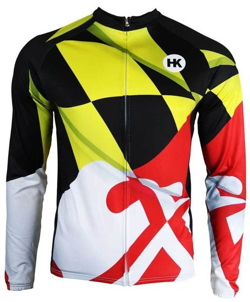 Hill Killer Apparel Co Pride of Maryland Men's Thermal Cycling Jersey