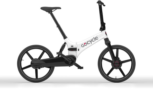 Gocycle GX Electric Folding Bike Color: White