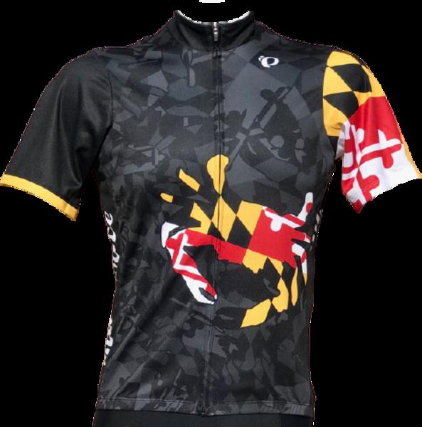 Race Pace Bicycles Men's Race Pace Crab Jersey - Black