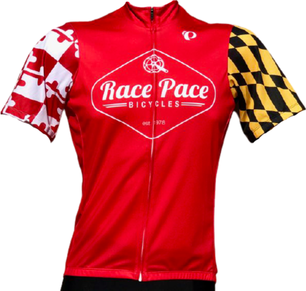 Race Pace Bicycles Women's Race Pace Crab Jersey - Red