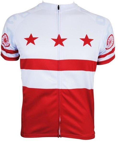 Hill Killer Apparel Co DC Flag Men's Cycling Jersey