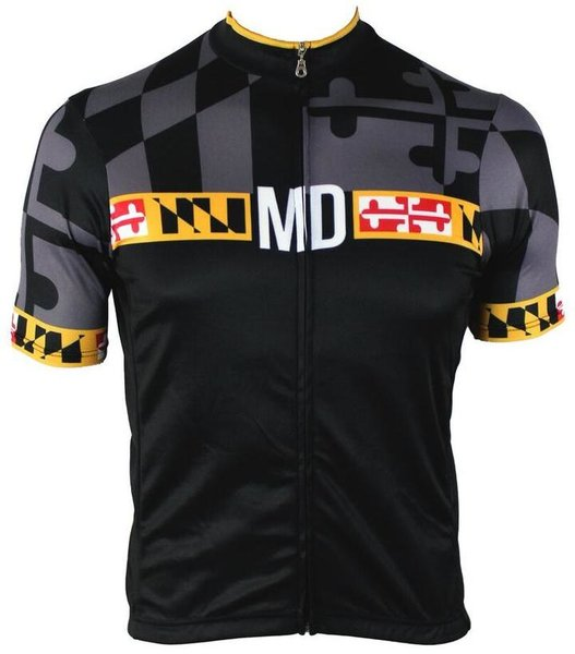 Hill Killer Apparel Co Maryland 'Blackout' Men's Cycling Jersey