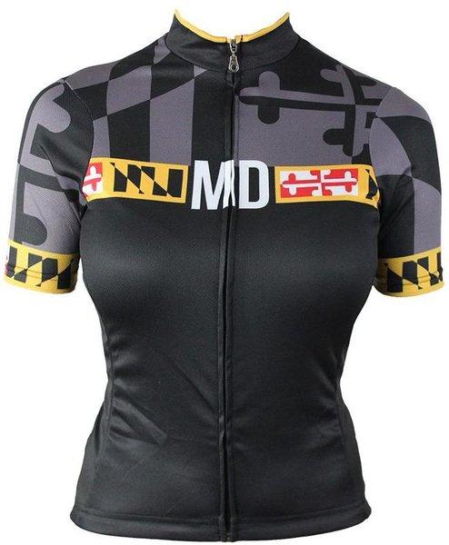 Hill Killer Apparel Co Maryland 'Blackout' Women's Cycling Jersey