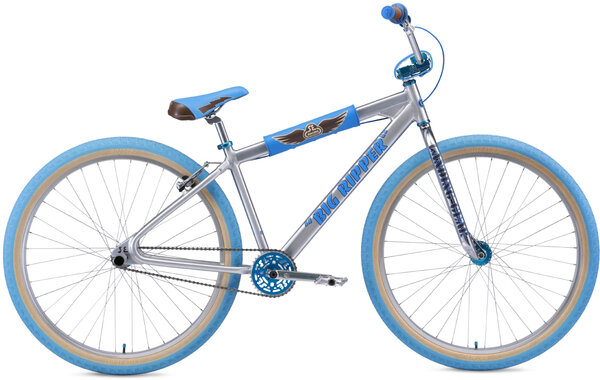"SE Bikes Big Ripper 29"" Ball Burnished Silver"