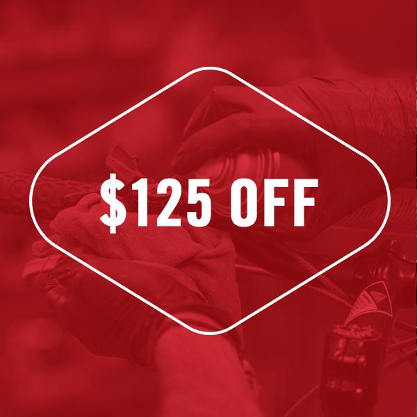 $125 Off