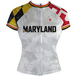 Hill Killer Apparel Co Maryland Recon Women's Club-Cut Cycling Jersey