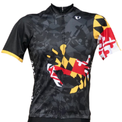 Race Pace Bicycles Men's Race Pace Crab Jersey - Black