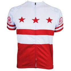 Hill Killer Apparel Co DC Flag Men's Cycling Jersey